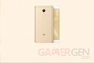 Xiaomi Redmi Note 4 X or champagne