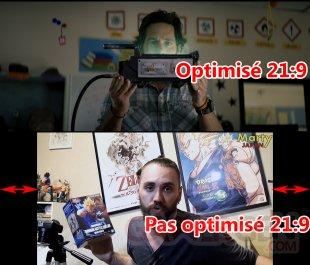 Xperia 1 II Comparaison vidéo optimisée ou pas