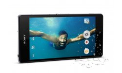 Xperia Z2 waterproof eau