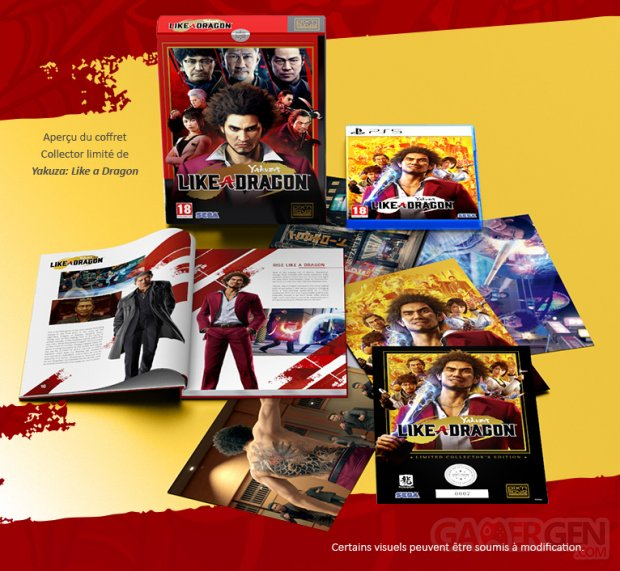 Yakuza Like A Dragon Edition Spéciale limitée PS5 Pix'n Love Image (1)