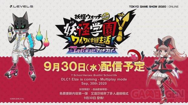 Yo kai Academy Y Waiwai Gakuen Seikatsu 26 09 2020