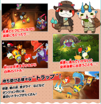 Yo kai Watch 3 Sukiyaki mode Blasters Treasure gameplay 15 10 2016