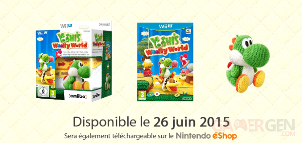 Yoshi Woolly World bundle amiibo