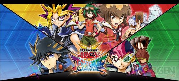 Yu Gi Oh Arc V Tag Force Special main artwork