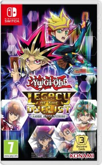 Yu Gi Oh Legacy of the Duelist Evolution Link jaquette