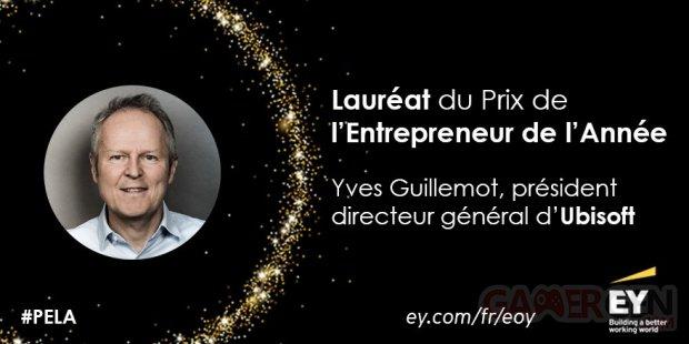 Yves Guillemot EY ENtrepreneur Année