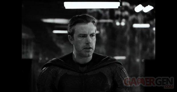 Zack Snyder Cut Justice League Image Noir et blanc ratio