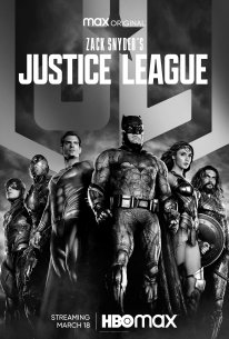 Zack Snyder's Justice League Affiche Poster2