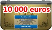 zelda collector 10000 euros new 3DS