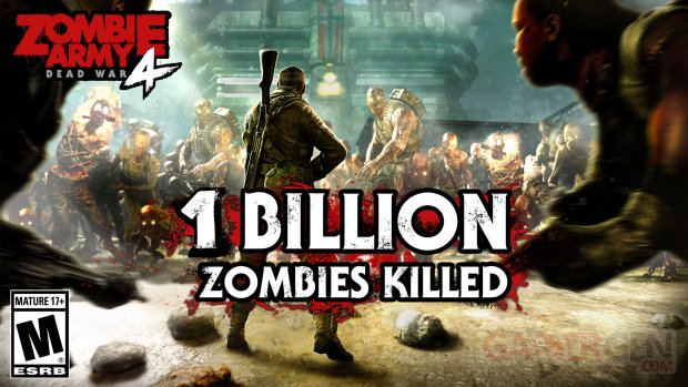 Zombie Army 4 Dead War Milliard zombies tués