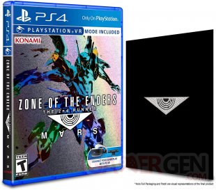 Zone of the Enders 2nd Runner Mars jaquette édition holographique